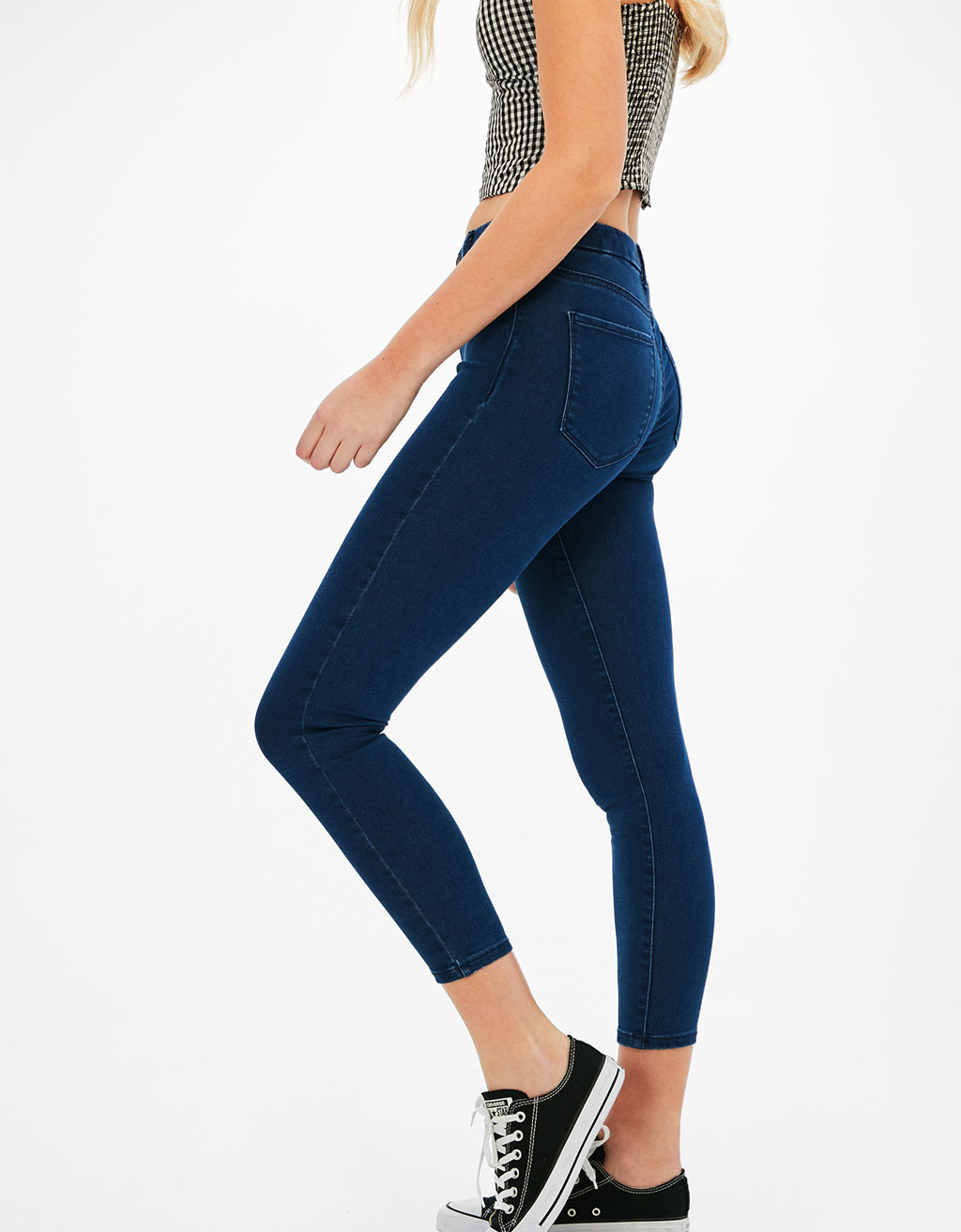 Skinny Cropped stretchy jeans