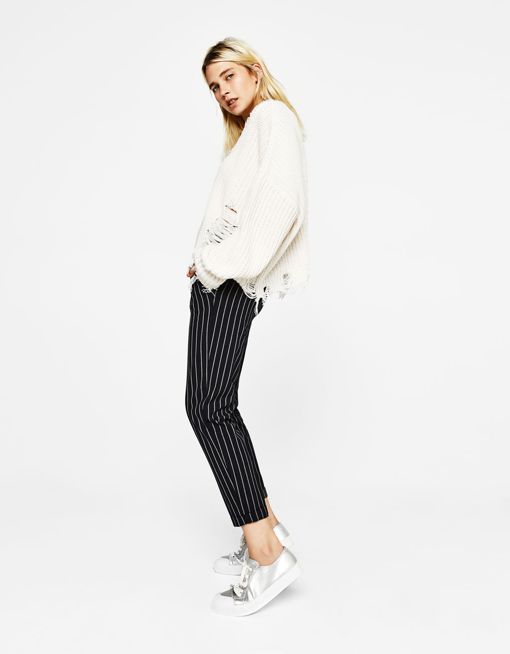 Tailored jogging trousers with darts