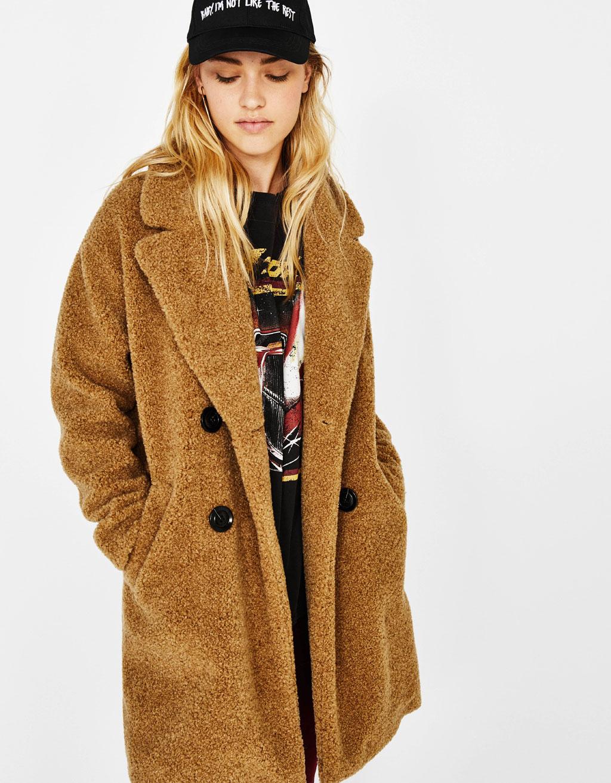 에코 시어링 코트