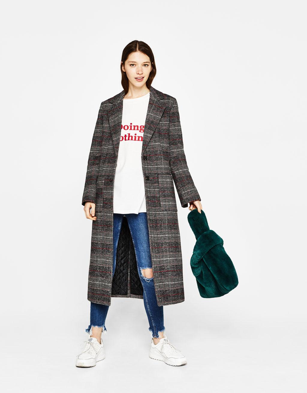 Wool tailored coat