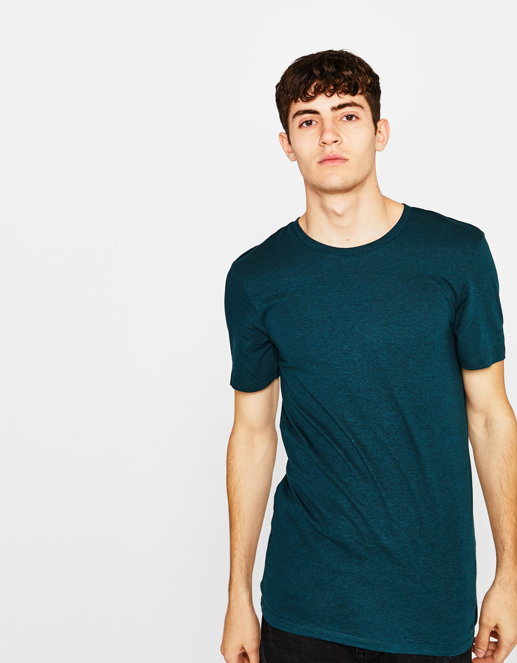 Crew neck cotton T-shirt