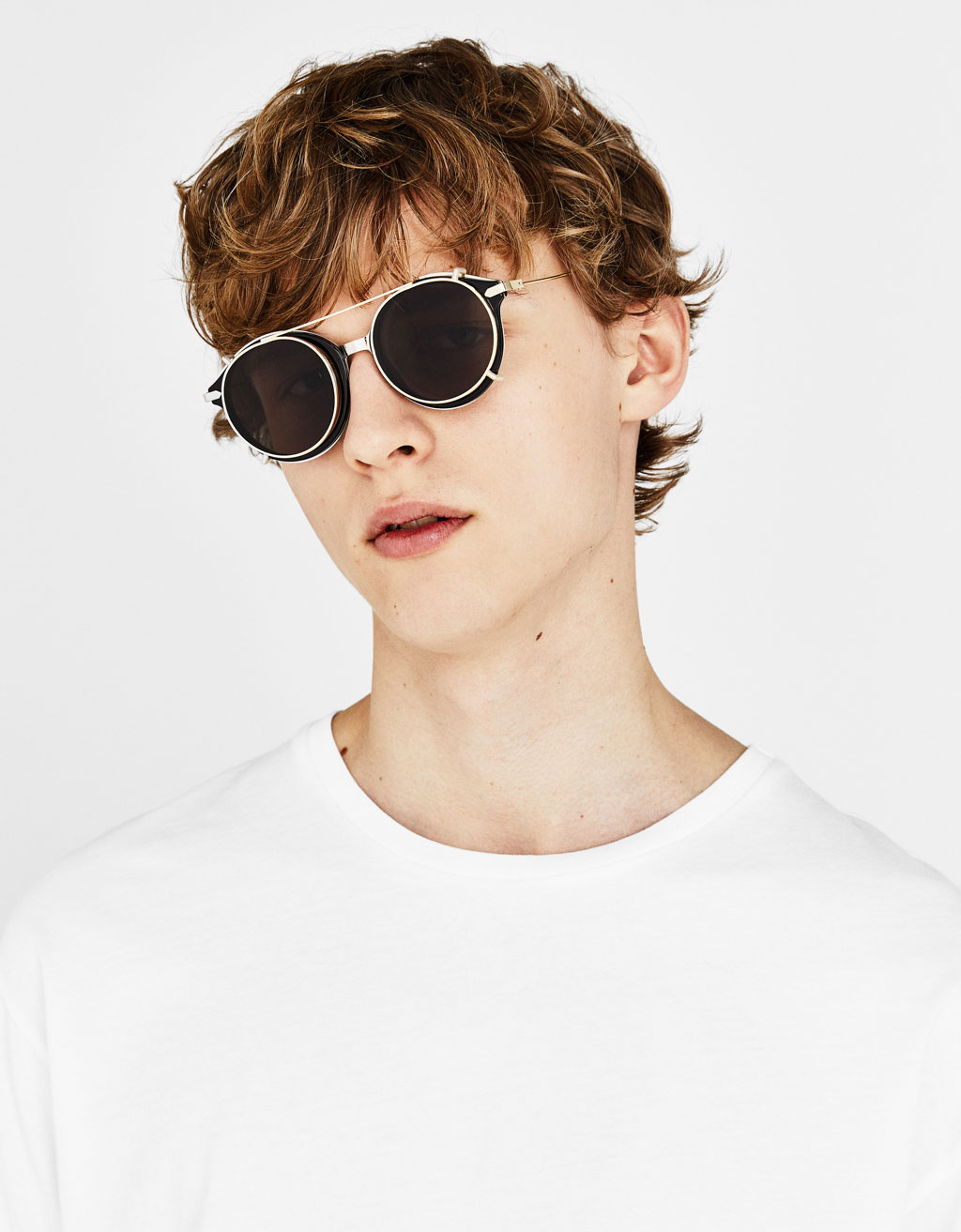Double frame sunglasses