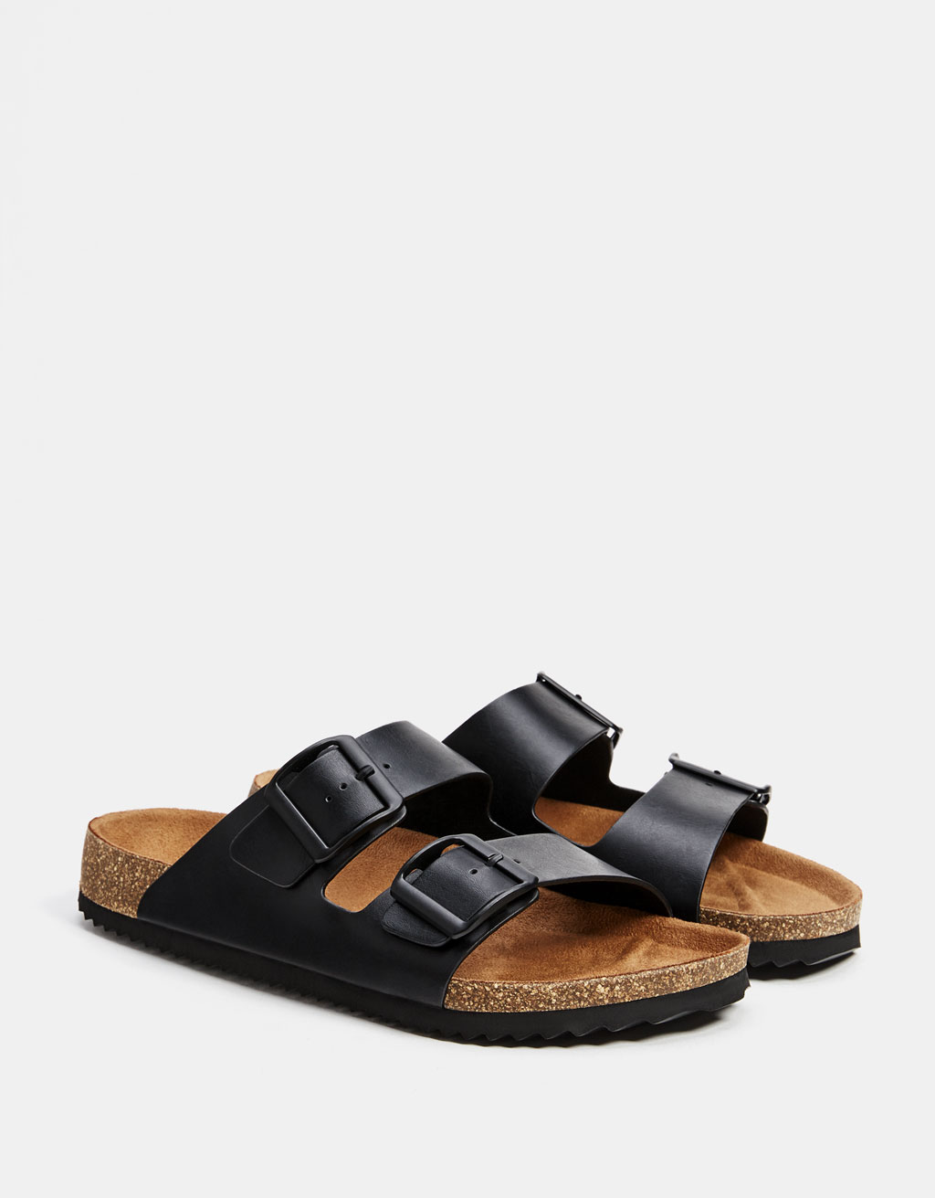 Men's buckled sandals