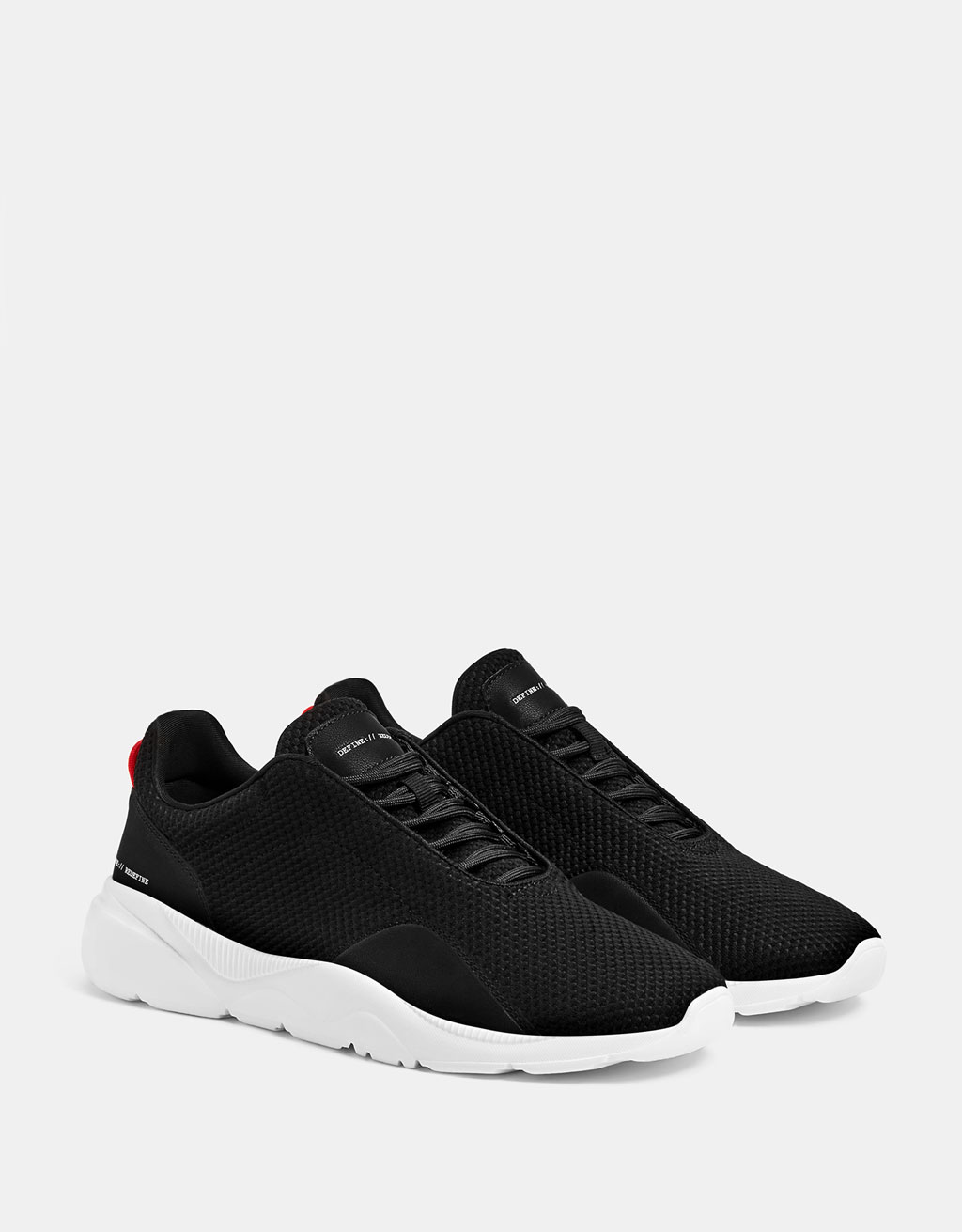 Men's mesh technical sneakers