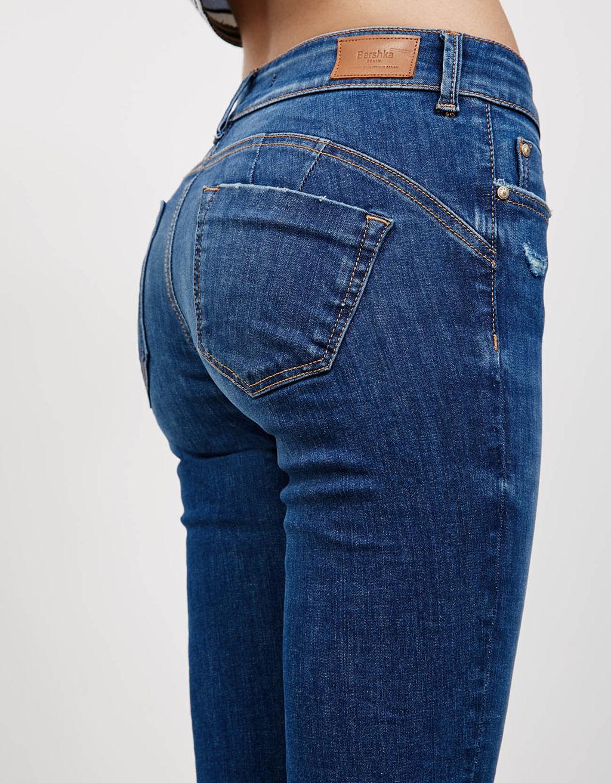 jeans push up jeans bershka belgium. Black Bedroom Furniture Sets. Home Design Ideas