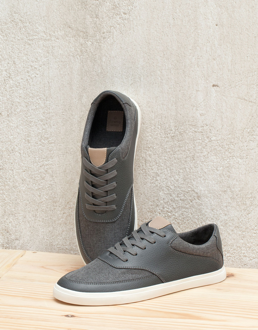s combined sport sneakers view all bershka spain