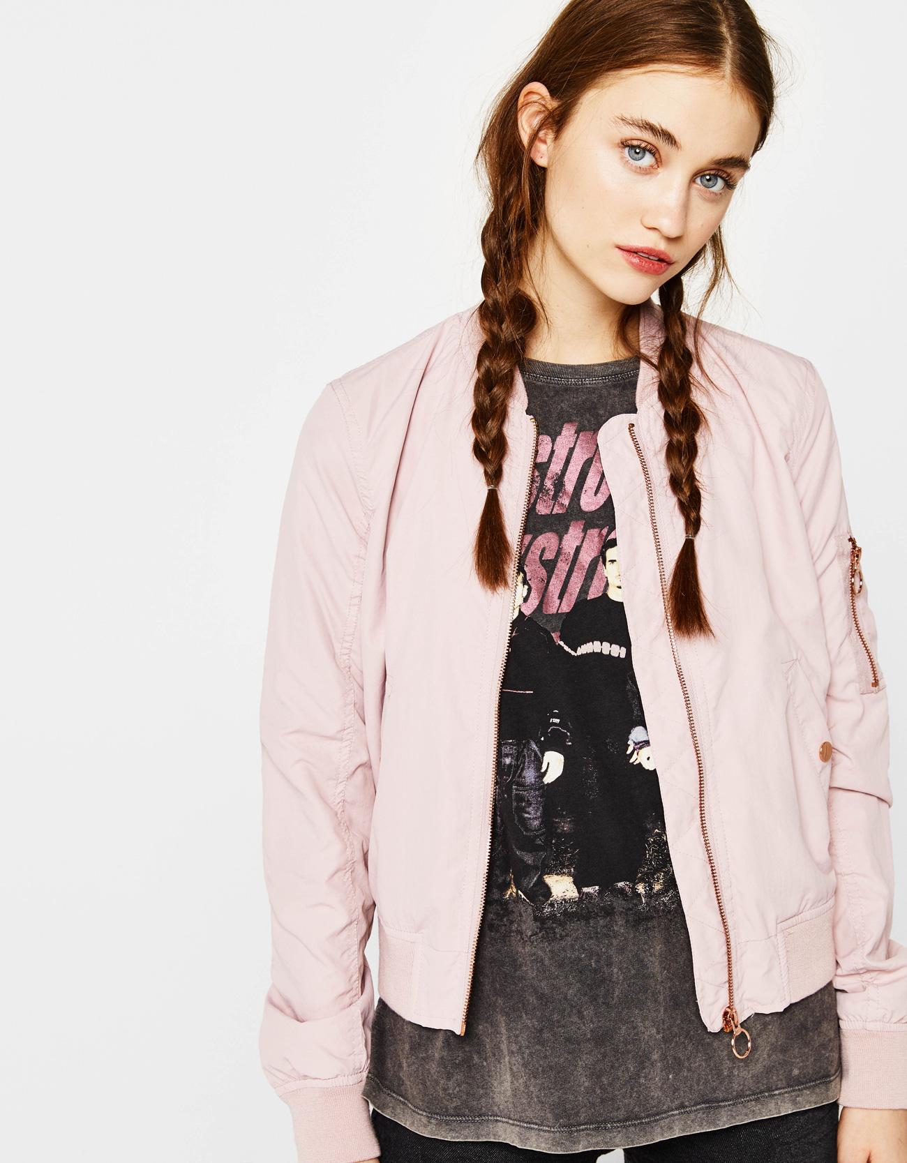 Soft bomber jacket - CLOTHES - Bershka Oman