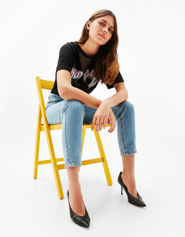 women 39 s jeans for spring summer 2017 bershka. Black Bedroom Furniture Sets. Home Design Ideas