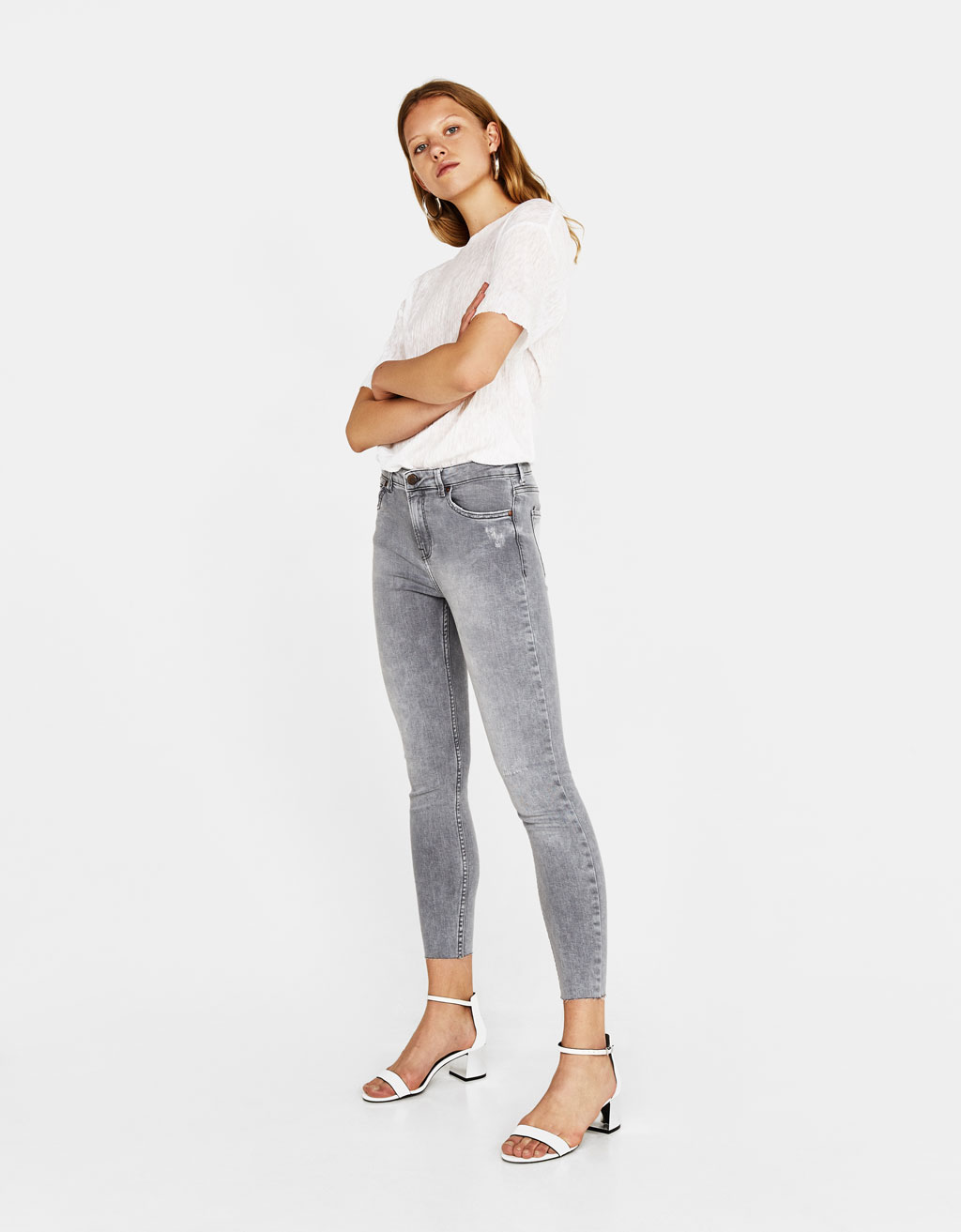 Jean 7/8 coupe skinny