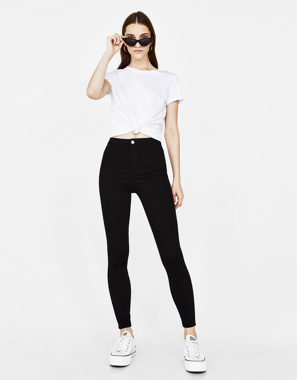 Jegging Taille Haute by Bershka