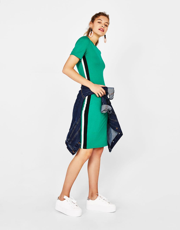 Vestidos color verde marino