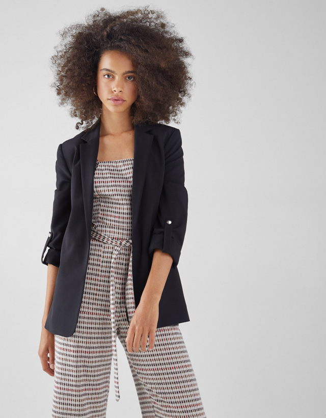 Blazers - Jackets - CLOTHING - WOMEN - Bershka Switzerland