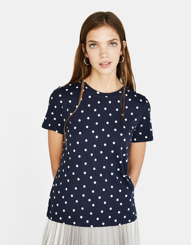Tričko s kulatým límcem