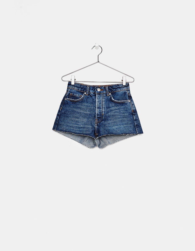 Vintage-Jeansshorts im Mom-Fit