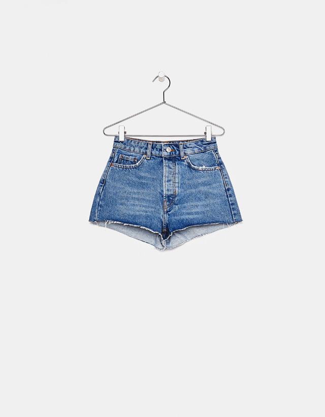 Vintage-Jeansshorts im Mom-Fit