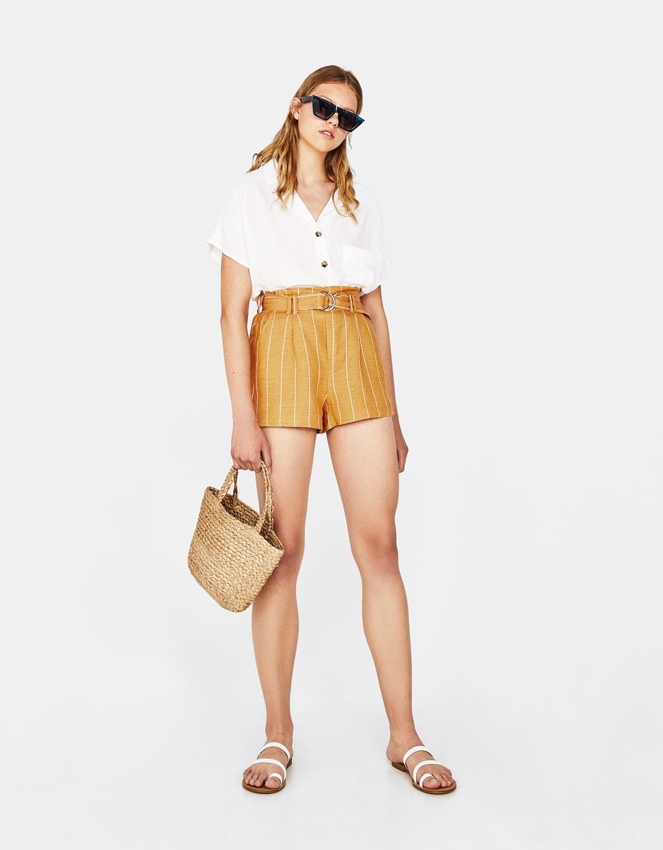 Tailoring kratke hlače s remenom