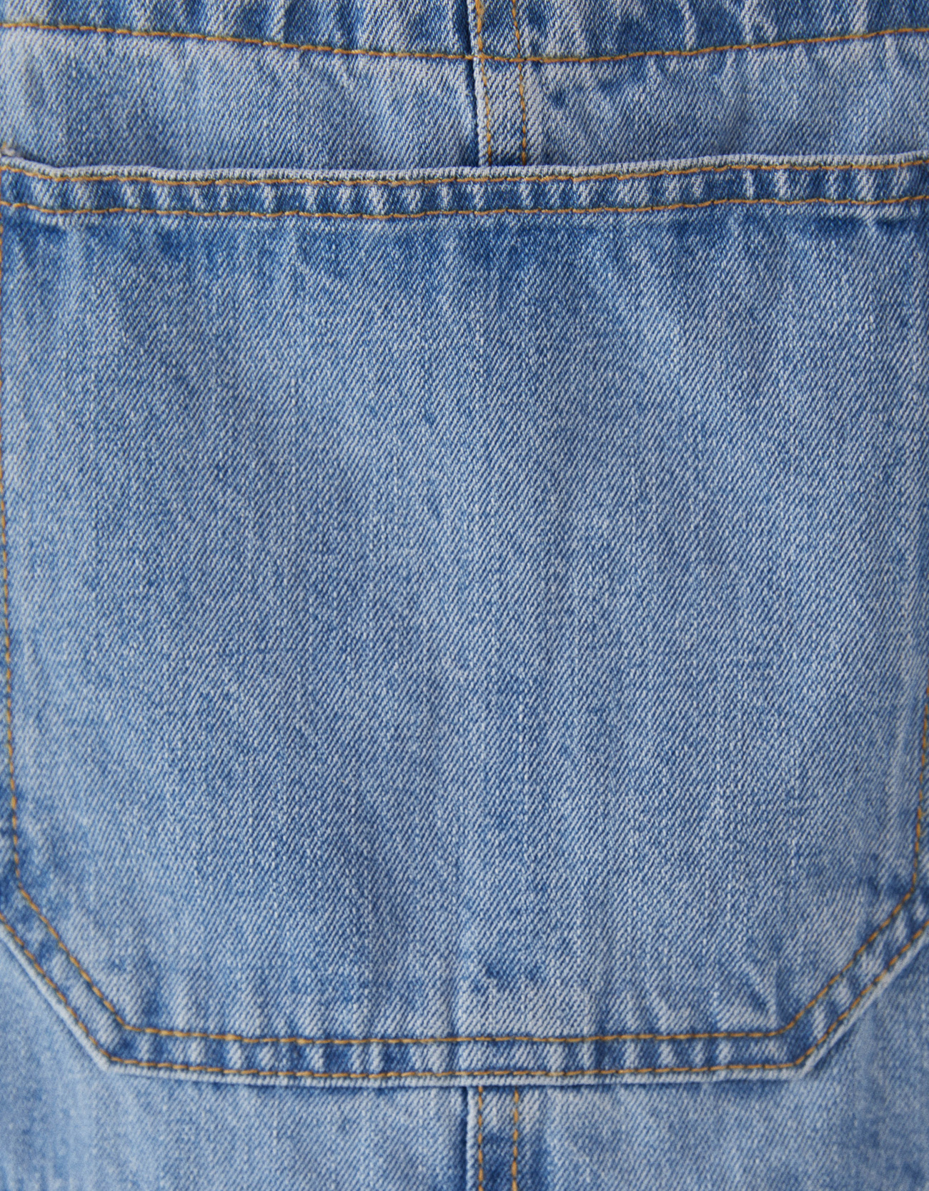 4a1703cb126 Denim pinafore dress - Playsuits   Jumpsuits - Bershka Italy