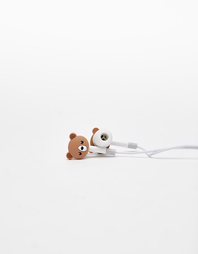 Ohrhörer mit Bärchen