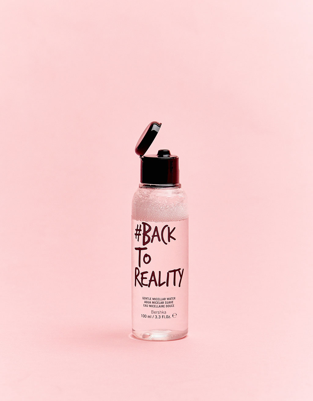 #backtoreality Soft micellar water