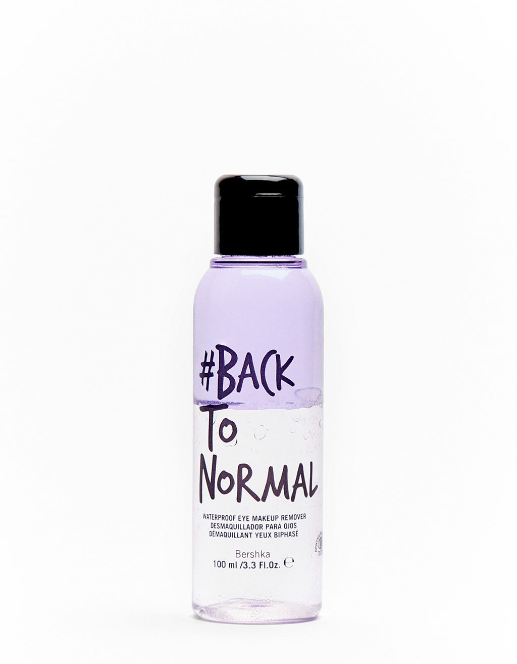 #backtonormal Oog make-up remover