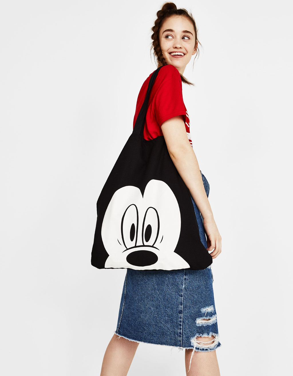 Mickey shopper çanta