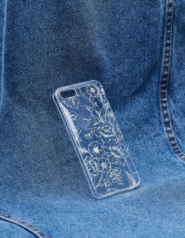 Handyhülle mit Blumenprint für iPhone 5