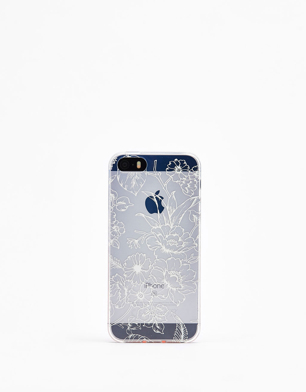 Cover med blomster iPhone 5
