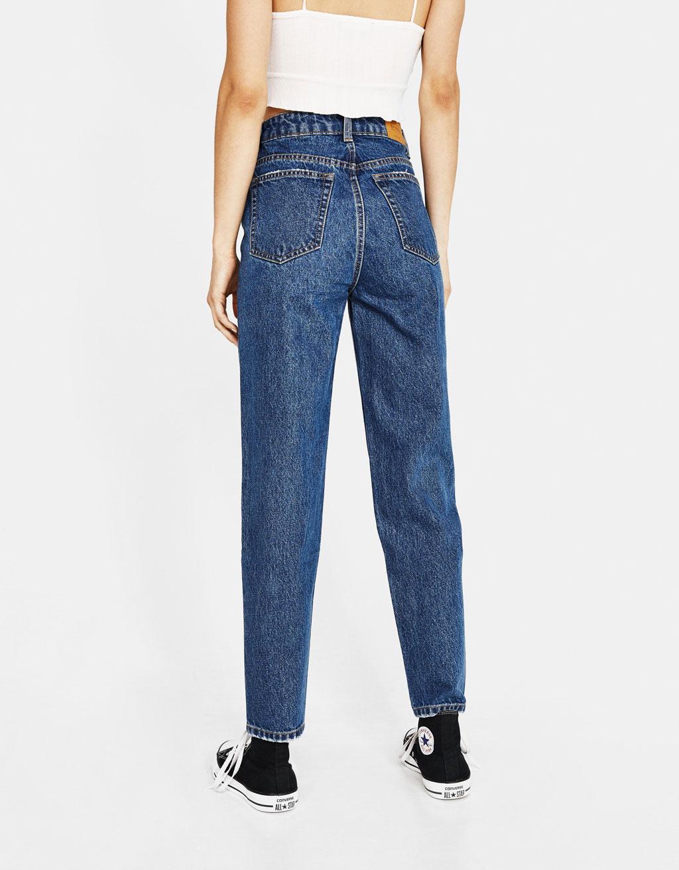 8ba0a6d9812 High waist mom jeans - High Rise - Bershka Armenia