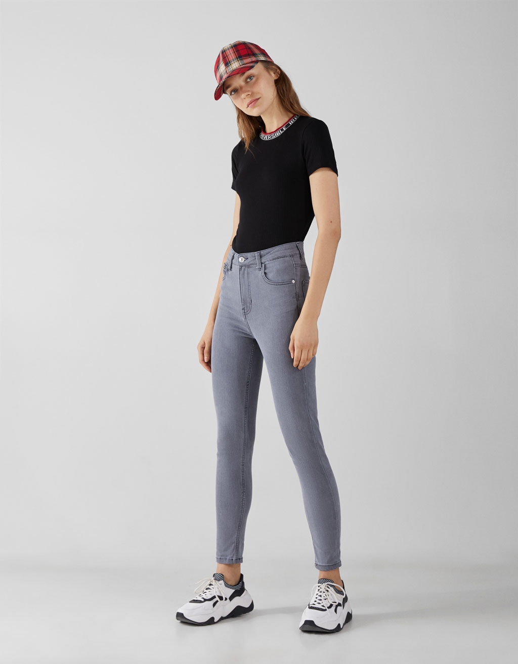 Jeanși Skinny Fit High Waist