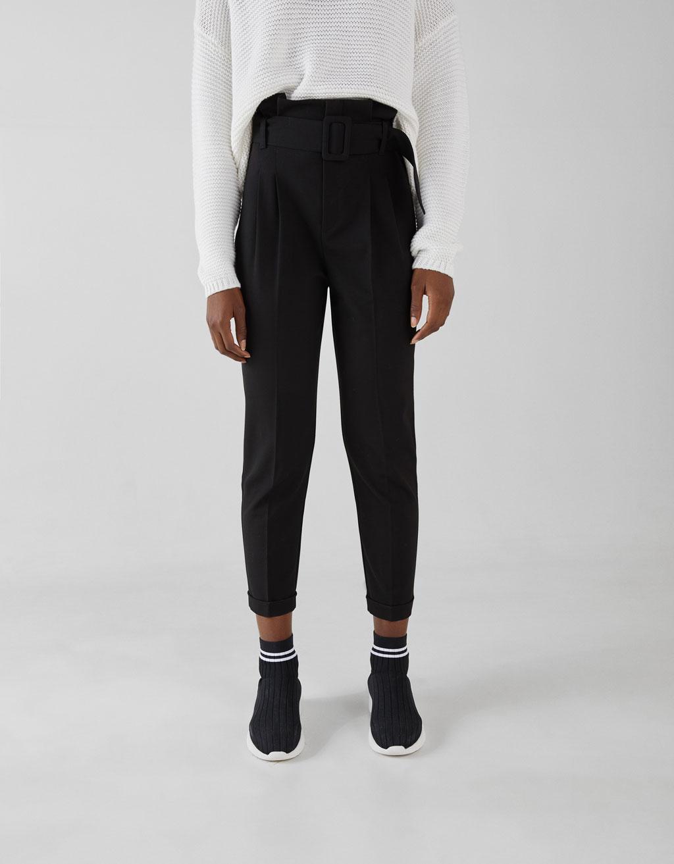 Pantalons paperbag