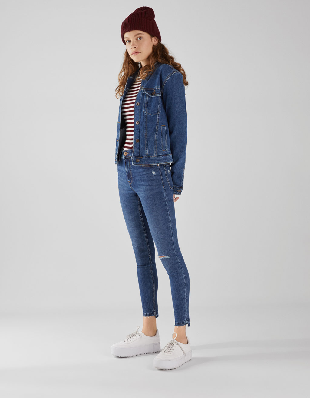 Jeans Skinny Fit Low Rise