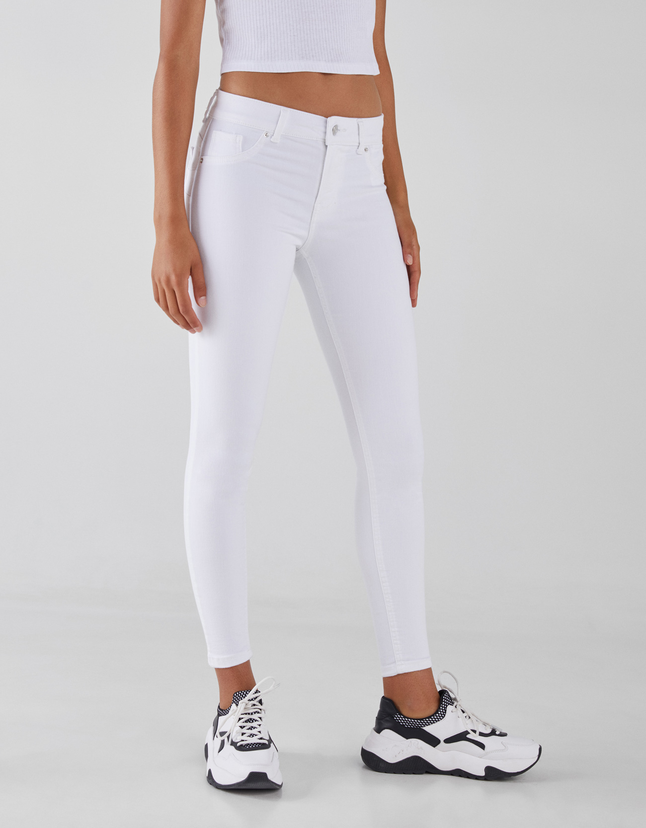 0ac43ee835373 Push Up Low Rise Jeans - Push-up - Bershka United States