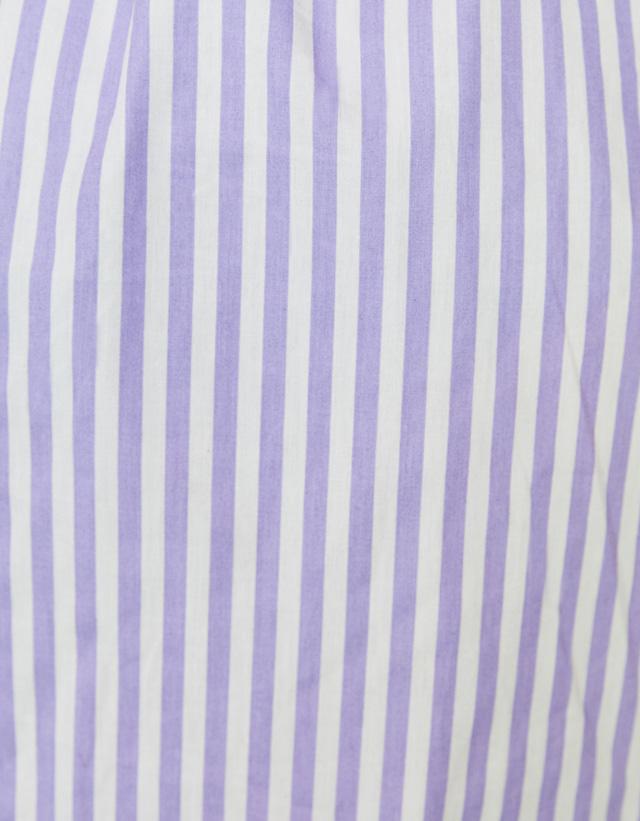 Popelin-Hemdkleid mit Gürtel