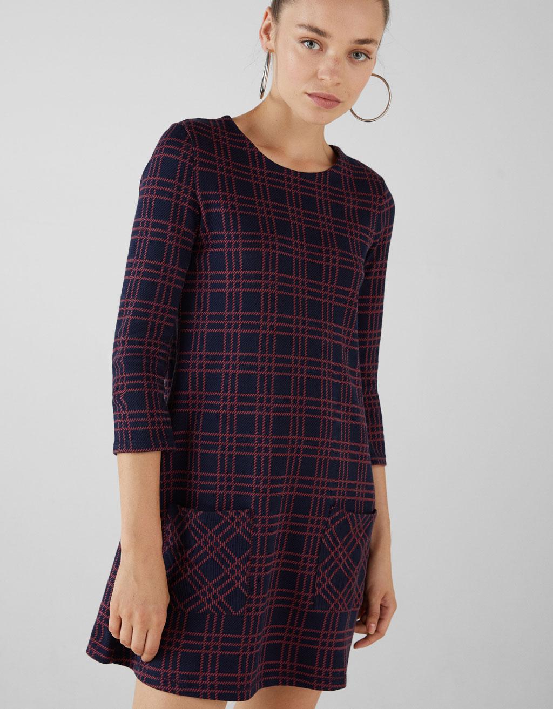 Κοντό φόρεμα με τσέπες by Bershka