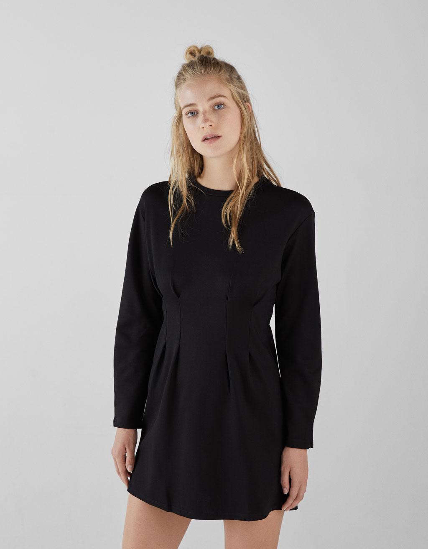 Къса рокля с басти
