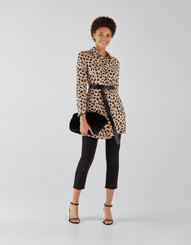 Mekko leopardikuosilla