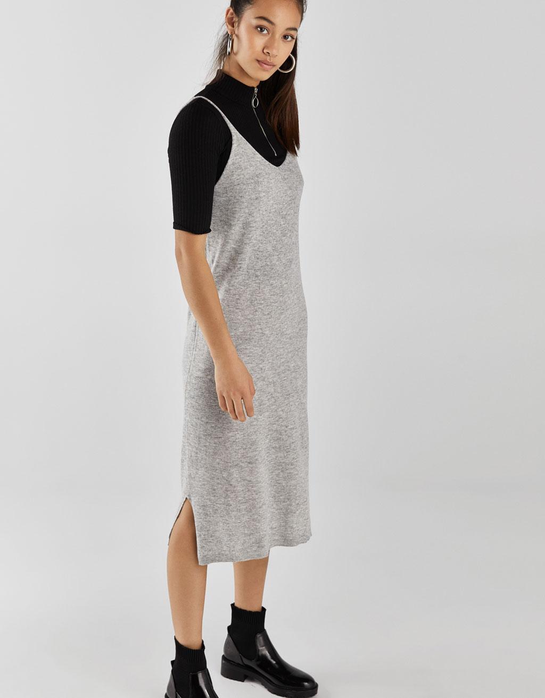 purchase cheap 3ae15 d22cc Vestito lungo in maglia