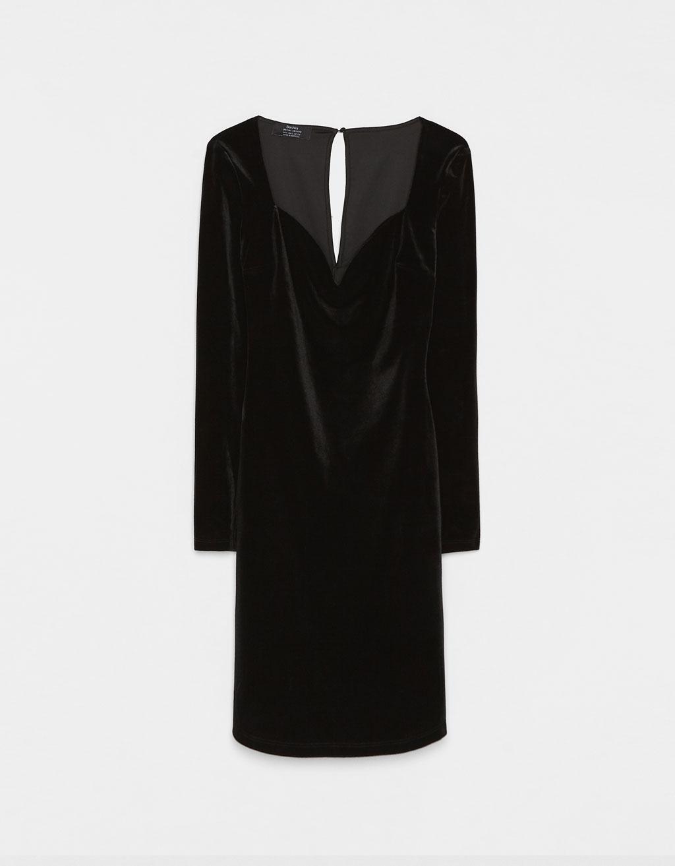 Velvet Sweetheart Dress
