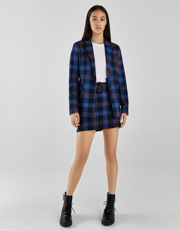 Mini Sukně S Páskem by Bershka