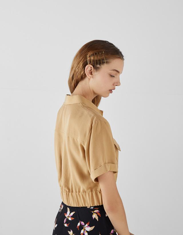 Hemd aus Lyocell® mit Taschen Join Life