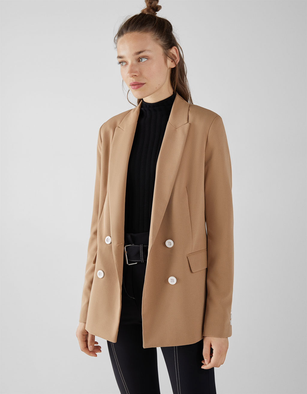 fresh styles best place newest collection Shoptagr | Zweireihiger Blazer by Bershka