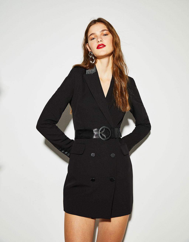 Veste tailleur type robe