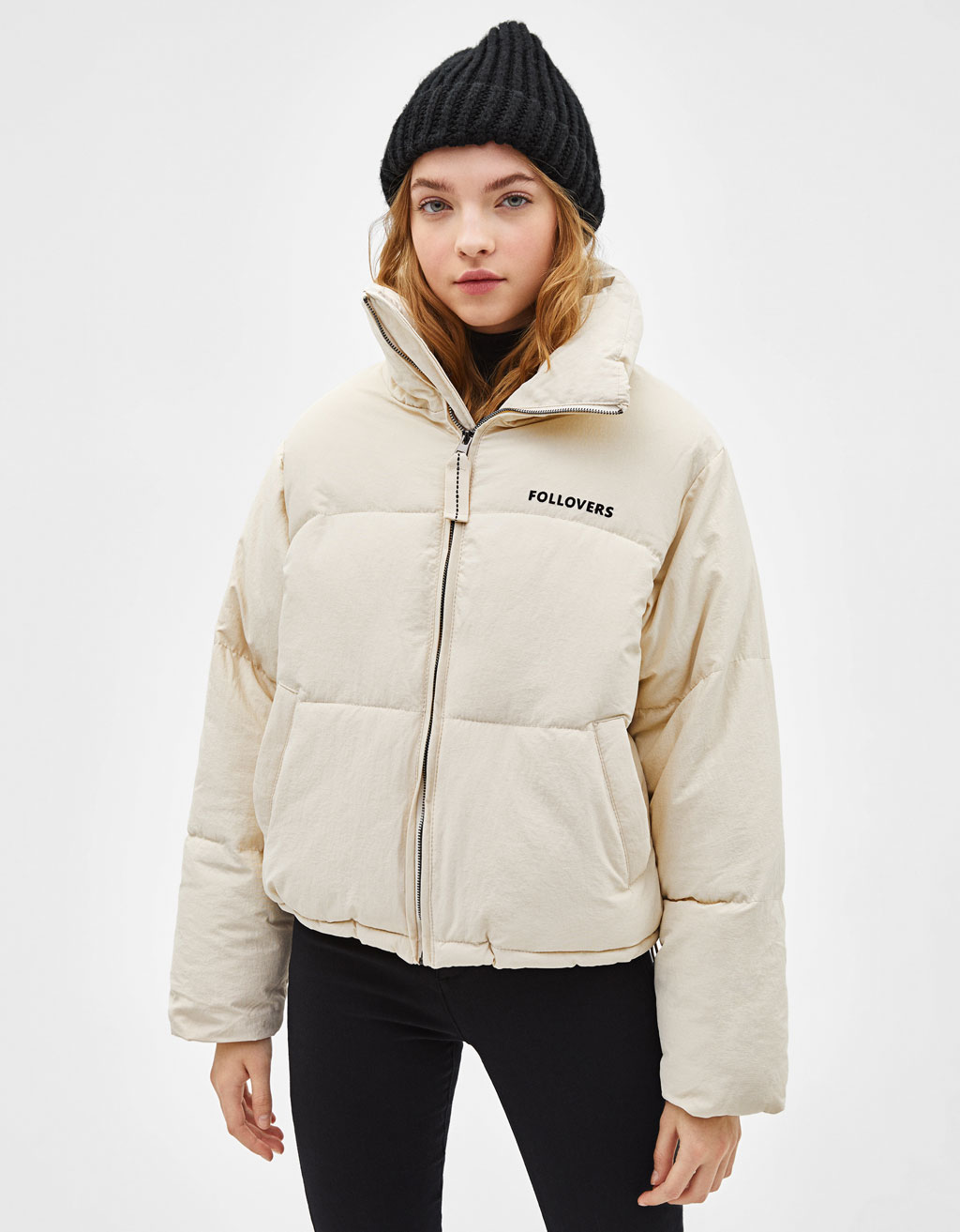 'Follovers' puffer jacket