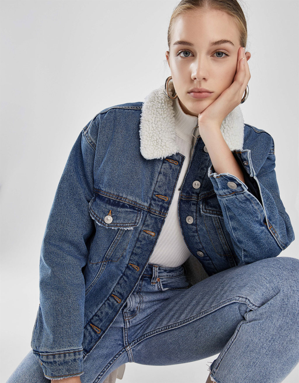 Denim Vêtements Bershka France Femme Collection FTHqA