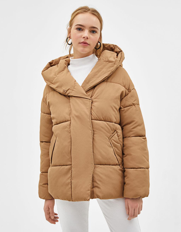 Puffy corto con capucha