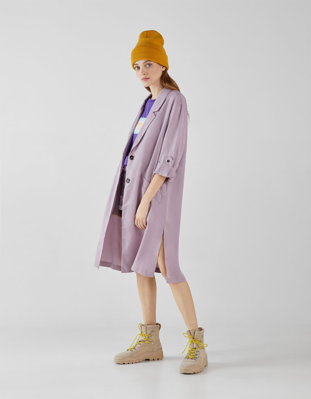 Tencel® trench coat