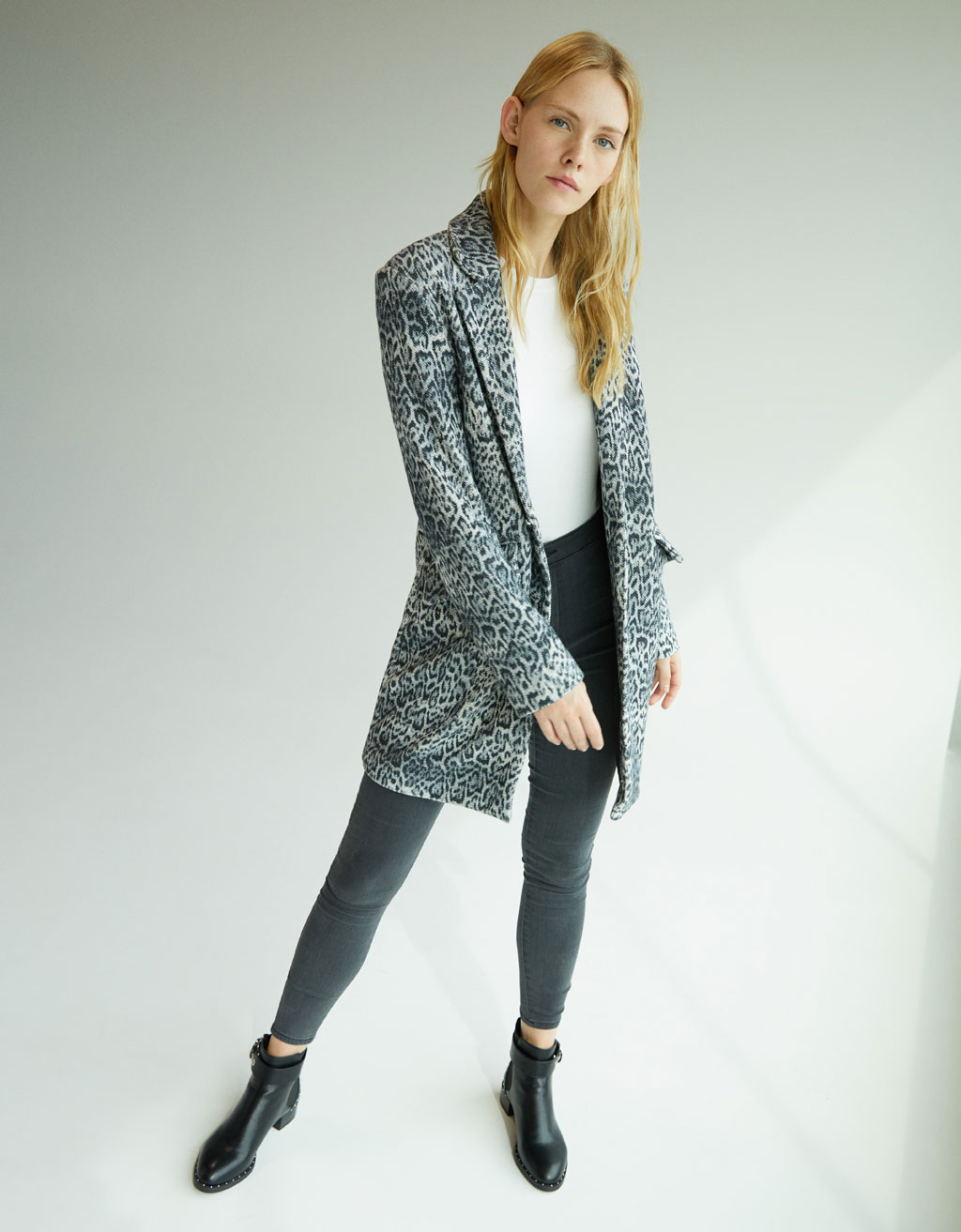 Manteau animal print
