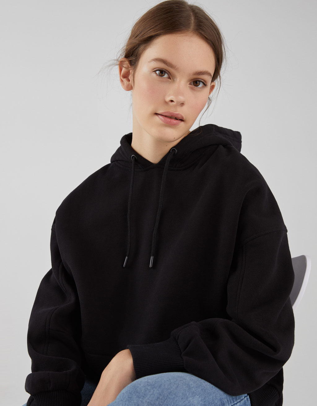 Join Life oversized hooded sweatshirt