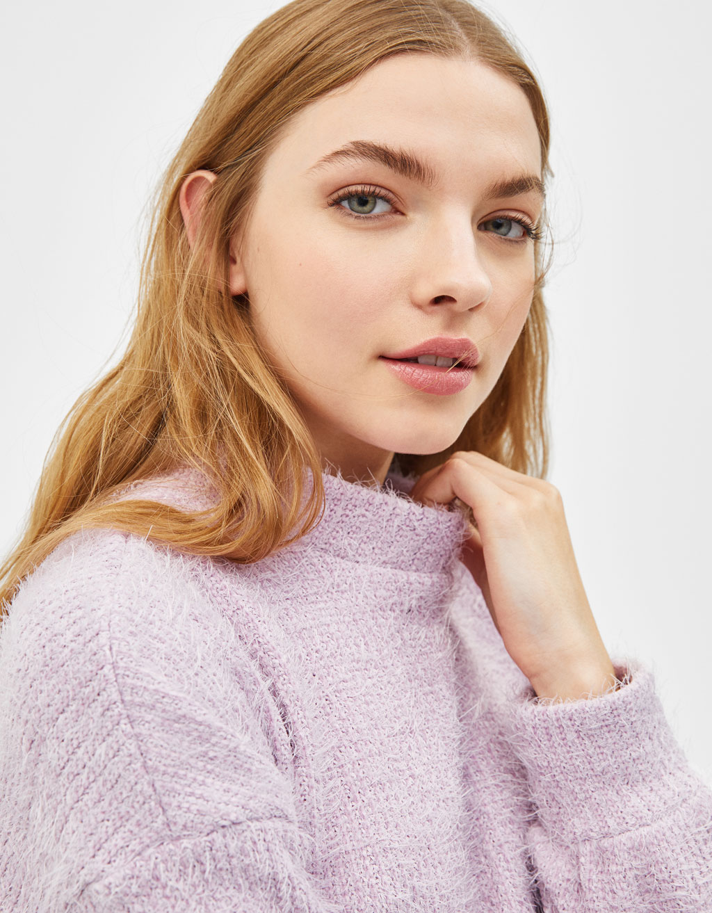 Pulover Din Chenille by Bershka
