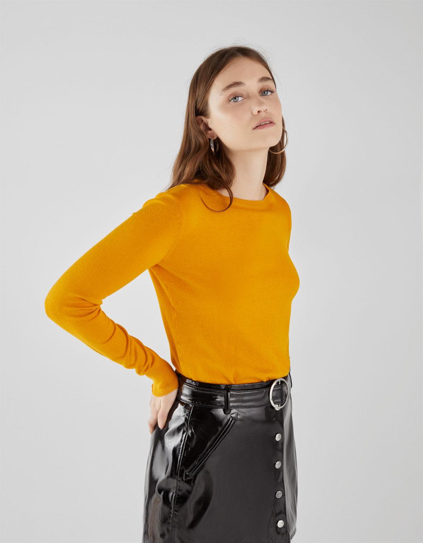 Пуловер с копчета